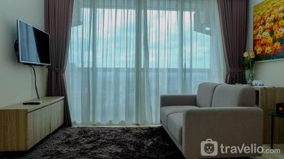 2BR Apartment with Private Lift at Menteng Park By Travelio