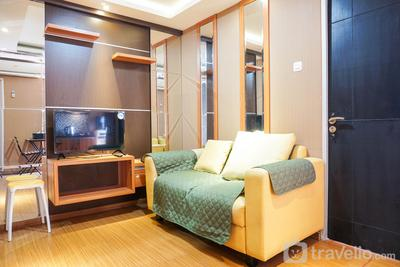 Clean and Comfy 2BR at Pancoran Riverside Apartment By Travelio
