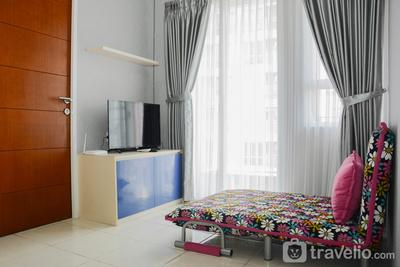 Comfortable 2BR Apartment at Taman Melati Margonda By Travelio