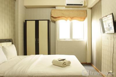 Quiet & Comfy Studio at The Suites @Metro Apartment By Travelio