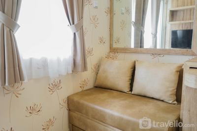 Best Furnished 2BR Mall Access at Green Pramuka Apartment By Travelio