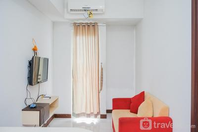 Cozy and Simple 1BR Apartment at Scientia Residence By Travelio