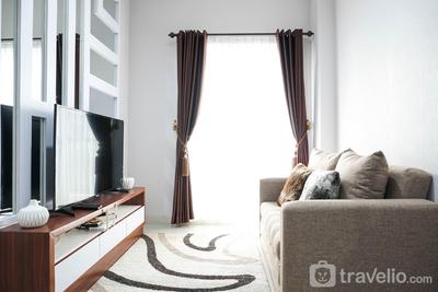Modern 2BR at Signature Park Grande Apartment By Travelio