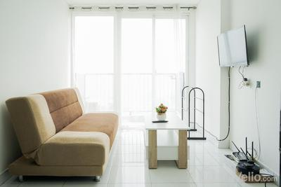 Comfort and Modern 1BR Casa De Parco Apartment By Travelio