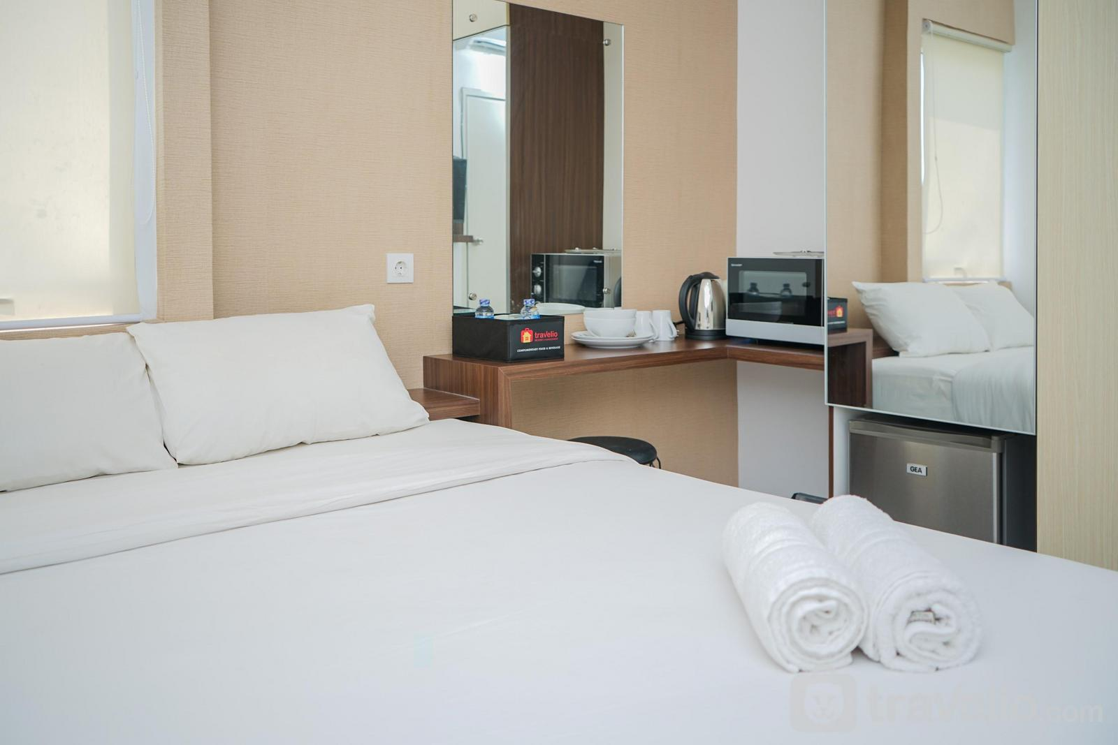 Apartemen Aeropolis Residence - Compact and Tidy Studio (No Kitchen) Apartment at Aeropolis Residence 3 By Travelio