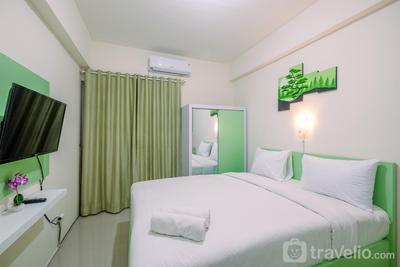 Comfortable and Minimalist Studio at Bogorienze Apartment By Travelio