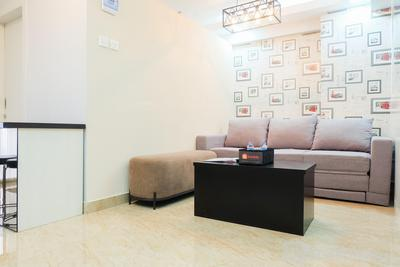 Modern 1BR at Bassura City Apartment By Travelio