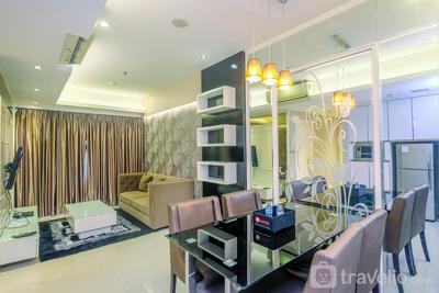 Spacious with City View 2BR Apartment at Casa Grande Residence By Travelio