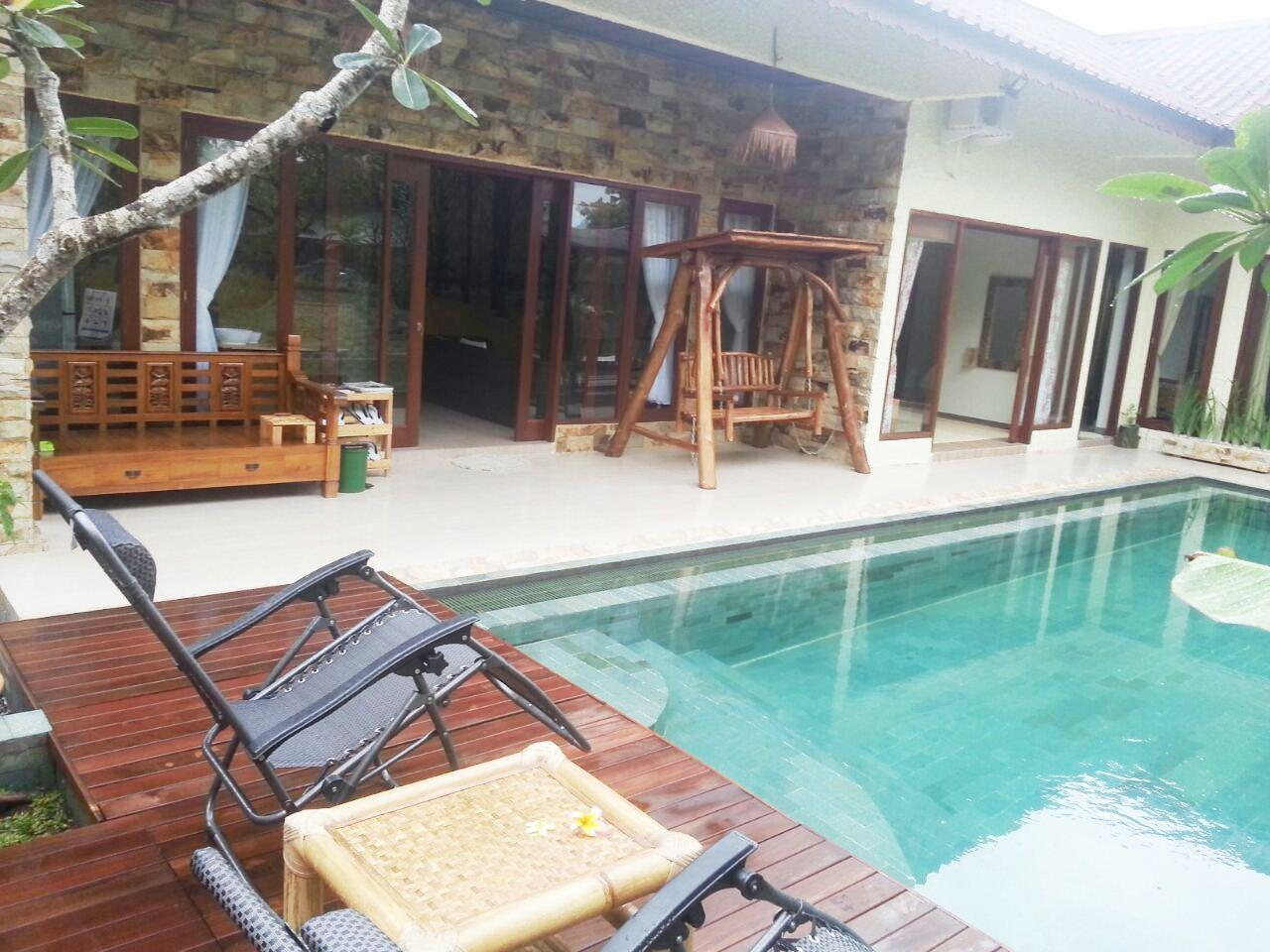 3 Bedrooms Natural Calmness Villa With Private Pool And Garden View
