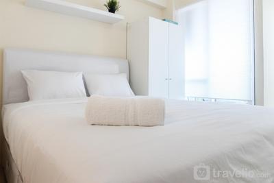 Homey and Comfy Studio @ Tifolia Apartment By Travelio