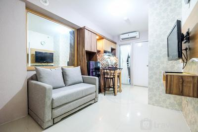 Classic 2BR Bassura City Apartment By Travelio