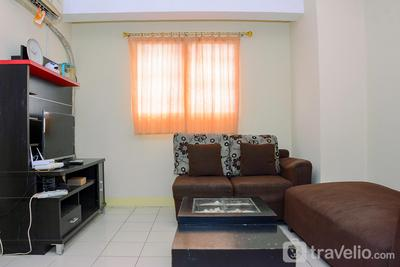 Pleasant 2BR Gading Icon Apartment with City View By Travelio