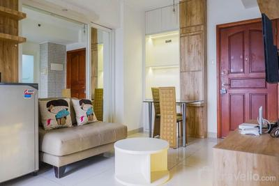 Homey 2BR at Waterplace Residence By Travelio