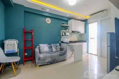 Clean and Simply Cozy 2BR Bassura City Apartment By Travelio