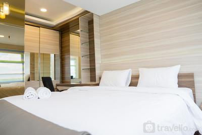 Spacious Studio Apartment at Grand Asia Afrika By Travelio