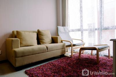 Cozy 1BR Asatti Apartment at Vanya Park By Travelio