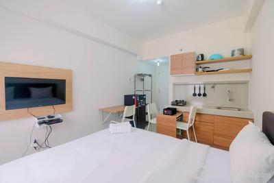 Homey Studio Apartment @ Bogorienze Resort By Travelio