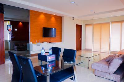 3BR Apartment Permata Hijau Residence with City View By Travelio