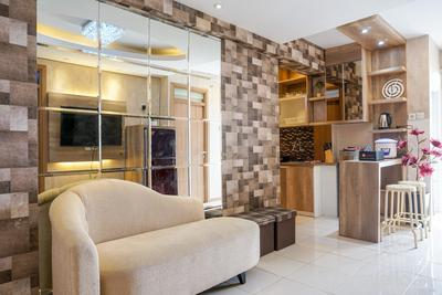 Comfortable 3BR Apartment at Green Palm Residences By Travelio