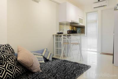 Stylish and Modern 2BR Bassura City Apartment By Travelio