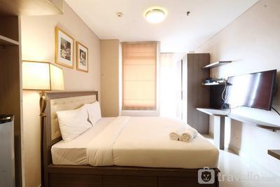 Homey Studio Room Sunter Icon Apartment By Travelio