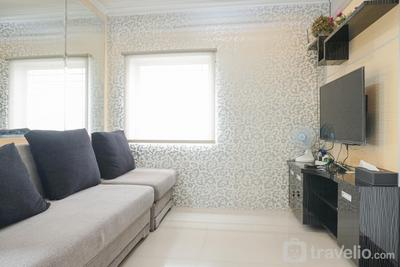 Beautiful and Comfy 2BR Menteng Square Apartment By Travelio