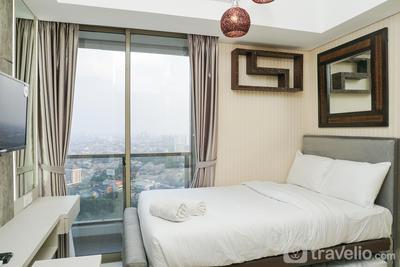Modern Elegant Studio Apartment @ Taman Anggrek Residence By Travelio