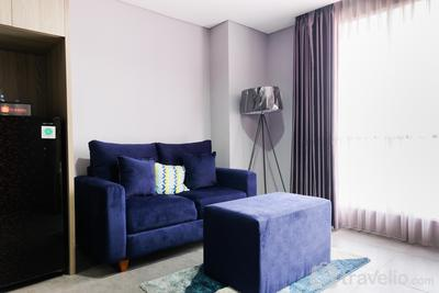 Spacious 2BR in Strategic Location Bintaro Icon Apartment by Travelio