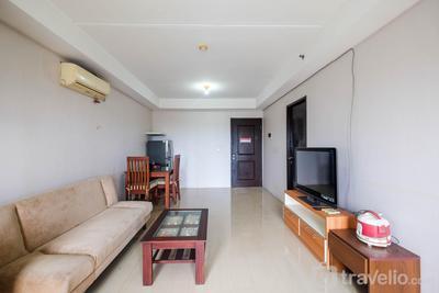 Homey and Comfort 2BR Metropark Condominium Apartment By Travelio