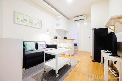 Modern 2BR Kalibata City Apartment By Travelio
