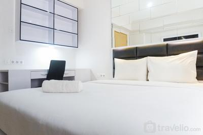 Comfy and Clean Studio Room Apartment at Educity By Travelio