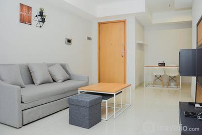 Best Modern 1BR Apartment The Mansion Kemayoran By Travelio