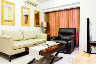 Spacious 2BR Apartment Berlian Permata Hijau By Travelio
