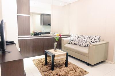 1BR Cosmo Terrace Near Thamrin City By Travelio