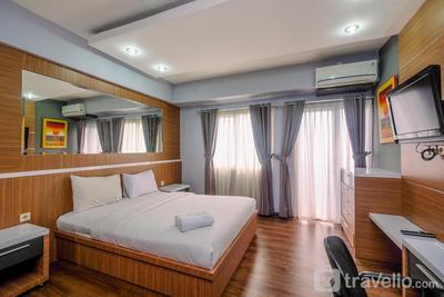 Cozy Stay Studio Apartment at Park View Condominium By Travelio