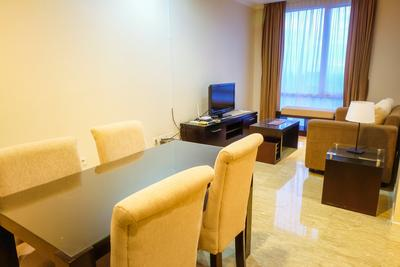 Fantastic View 2BR Apartment at FX Residence Sudirman By Travelio