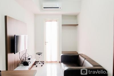Modern 1BR Apartment at Scientia Residence By Travelio