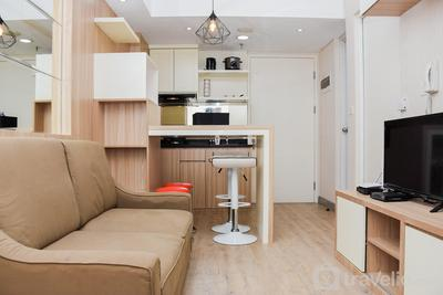Comfort and Homey 2BR at Springlake Apartment Bekasi By Travelio