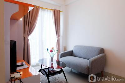 Cozy and Minimalist 2BR Apartment @ Signature Park Grande By Travelio