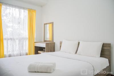 Minimalist and Stylish 1BR Scientia Apartment By Travelio