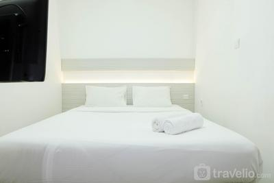 Cozy 1BR at Signature Park Grande Apartment near MT Haryono By Travelio