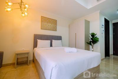 Stylish Studio Room Menteng Park Apartment By Travelio