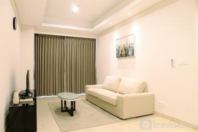 Furnished 2BR Apartment at Pondok Indah Residence By Travelio