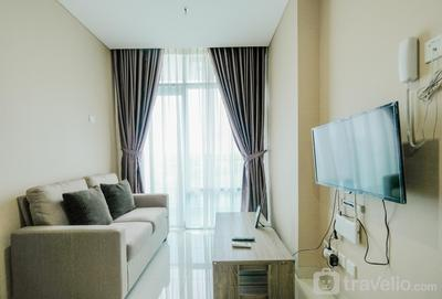 Cozy 1BR Brooklyn Alam Sutera Apartment By Travelio