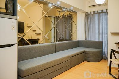 Fully Furnished Apartment 2BR Serpong M-Town Residence By Travelio
