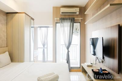 Homey Studio Apartment at M-Town Residence near Summarecon Mall Serpong By Travelio