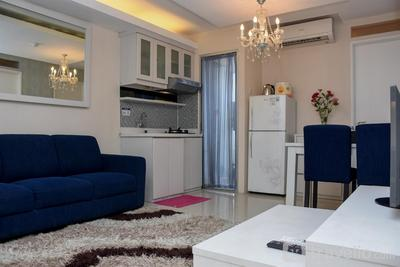 Best Homey and Cozy 3BR Green Palace Kalibata Apartment By Travelio