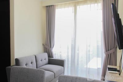 Spacious and Posh 2BR Menteng Park Apartment By Travelio