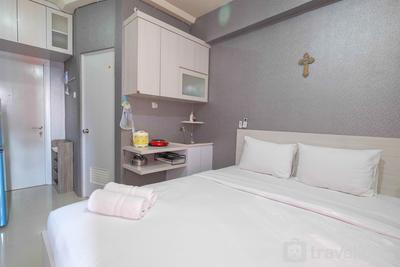 Mini Studio Green Pramuka Apartment By Travelio