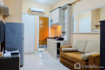 2BR Apartment at Green Pramuka City near Shopping Mall By Travelio